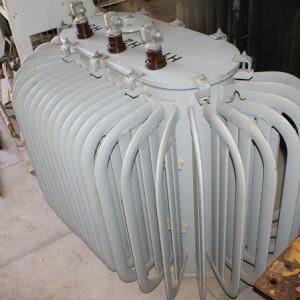 Transformador Trifásico Comtrafo 150kva, tensão maior 440V, tensão menor 220/127V