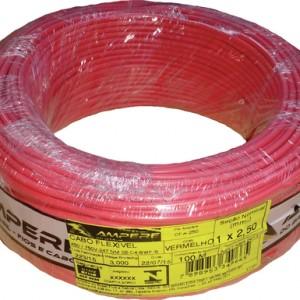 cabo vermelho 2,5mm