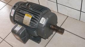 Motor trifásico Baldor 15cv, 3450rpm, 208/230/460V